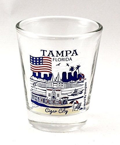 (Tampa Florida Great American Cities Collection Shot Glass)