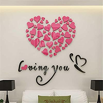 Lowprofile Love Heart DIY Removable Vinyl Decal Art Mural Wall Stickers Home Room Decor
