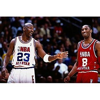 Amazon.com: Cartoon world 0337 Michael Jordan Kobe Bryant