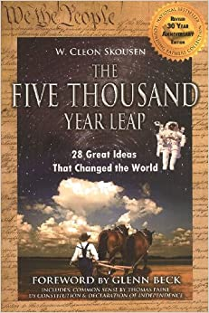 Book The Five Thousand Year Leap with Glenn Beck Foreword & Common Sense by Paine