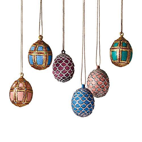 THE METROPOLITAN MUSEUM OF ART Easter Egg Hanging Vintage Decorative Ornaments