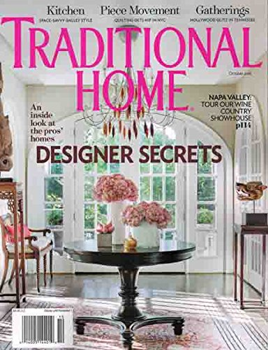 Download Traditional Home October 2016 Designer Secrets ebook