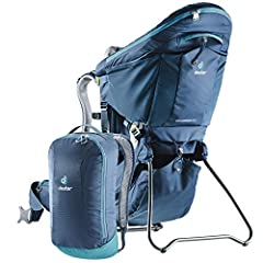 Mountain adventures become much more pleasant with the ingenious, new Aircomfort Sensic Vario mesh backsystem. The weight of the load is transferred perfectly, the child carrier fits securely while the back is fully ventilated. The child carr...
