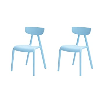 SoBuy KMB15 Bx2 Lot De 2 Chaise Enfant Design Pour Enfants Siege Garcons Et
