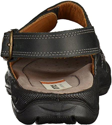 Jomos Activa 8 503607 42 - Sandalias de cuero para hombre negro