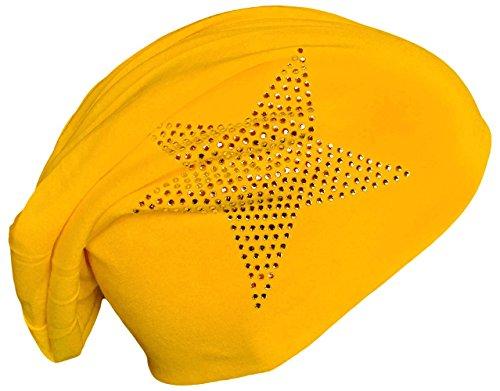 Miobo - Gorro de Punto - para Hombre amarillo