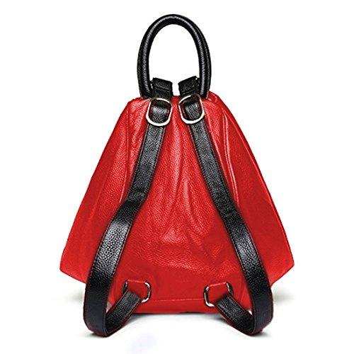 Deal 3 Way Brown Use Music With Bag Girls Charging Handbag Light Or Designer Backpack Aux And Shoulder Port Stylish For Usb Especial r51wEr