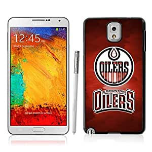 Victor Sports NHL Edmonton Oilers Samsung Galaxy Note 3 Case for Sports Fans-Chritmas Gift, Samsung Galaxy Note 3 Hard Cover