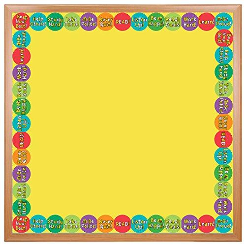 Be Bulletin Board (Hygloss Products Be Best Die-Cut Bulletin Board Border - Classroom Decoration - 3 x 36 Inch, 12)
