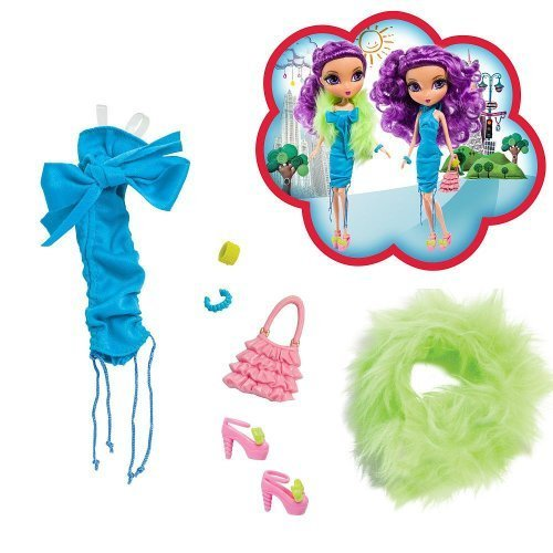 La Dee Da Rowdy Shouty Chic Outfits - Girls Night Out (La Dee Da Doll Clothes)