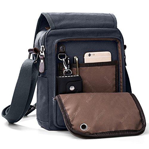 XINCADA Bag Shoulder Bags Messenger Bag Small Canvas Bags Crossbody Bag Travel
