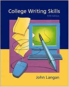 College application writing john langan