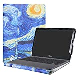 Alapmk Protective Case Cover For 11.6'' ASUS VivoBook E203NA E200HA L200HA/Chromebook C201 C201PA Series Laptop(Warning:Only fit model E203NA E200HA L200HA C201PA),Starry Night