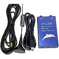 TOOGOO(R) RTL2832U+R820T2 100KHz-1.7GHz UHF VHF HF RTL.SDR USB Tuner Receiver AM, FM Radio