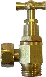 Regiplast B90 - Llave de paso de descarga (en escuadra, 3/8\