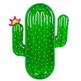 """Adult Inflatable Cactus Pool Float - Wishtime Giant Outdoor Swimming Pool Inflatable Float Raft Toy Floatie Lounge Toy for Adults and Kids,71"""""""
