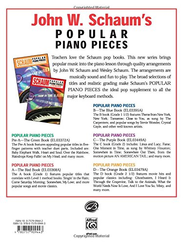 Scales and Pieces in All Keys - Book One: John W. Schaum ...