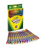 Crayola 68-7409  Twistables Colored Pencils, 30Count, Stocking Stuffer, Gift, 30 Count, Assorted.