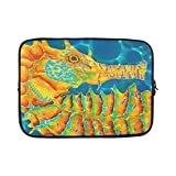 "Popular Oil Painting Sea Horse Laptop Sleeve Fits Laptop 15"",15.4"", 15.6 inch Laptop Bag,Laptop Cover Macbook Air,MacBook Pro (Twin Sides)"