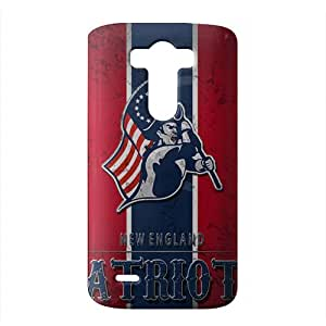 WWAN 2015 New Arrival new england patriots wallpaper 2015 3D Phone Case for LG G3
