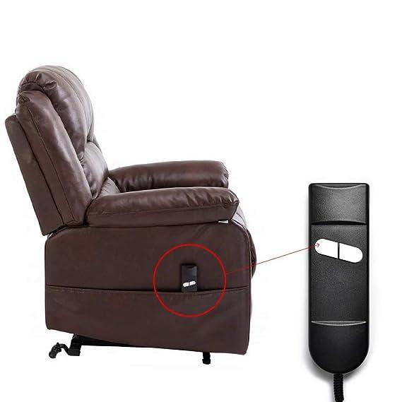 Sopito Sillon Silla Relax Reclinable Eléctrico Controlador de asiento reclinable Okin (29 V, 2 botones)