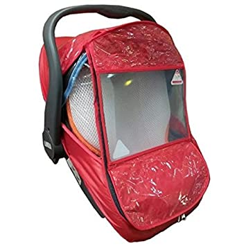 Amazon.com: Apple Baby Car Seat Rain Cover - Red: Baby