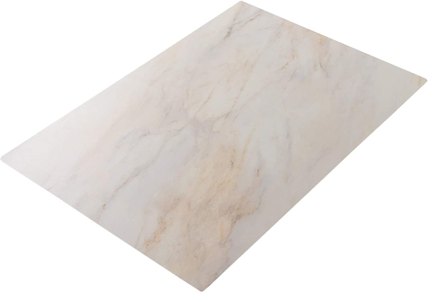 Bessie Bakes Light Beige Marble Replicated Photography Backdrop Board for Food & Product Photography 2ft Wide X 3ft High | 3 mm Thick Moisture Resistant Stain Resistant Lightweight