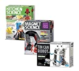 Best 4M Robots - Tin Can Robot - Kitchen Science - Magnet Review