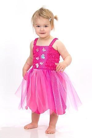 lucy locket disfraz de hada fucsia con mariposas para beb meses