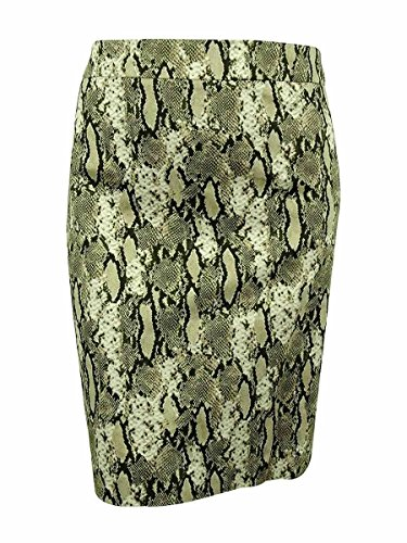 Jones New York Women's Plus-Size Lucy Pencil Skirt, Olive Combo, 24W