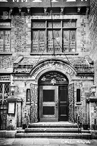 Irish Pub, Public House Art, Pub Decor, New York Print, Manhattan Art, Dining Room Art, Old New York, Rustic Decor, Wall Art, Den Wall Art, Sizes Available from 5x7 to 20x30