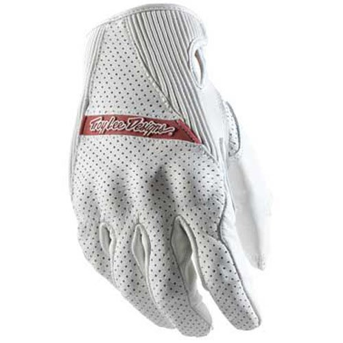 Troy Lee Designs Apex Sport Men's MotoX/Off-Road/Dirt Bike Motorcycle Gloves - White / Medium