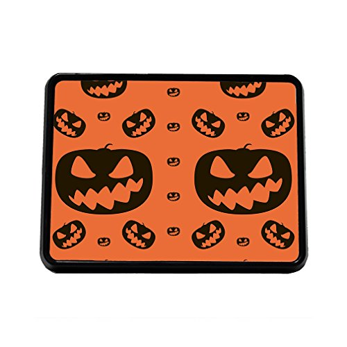 Halloween Background Pumpkins Trailer Hitch Cover Truck Receiver Hitch Plug (Pumpkin Background)