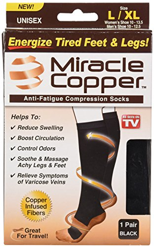 Miracle Copper Anti Fatigue Compression Socks product image