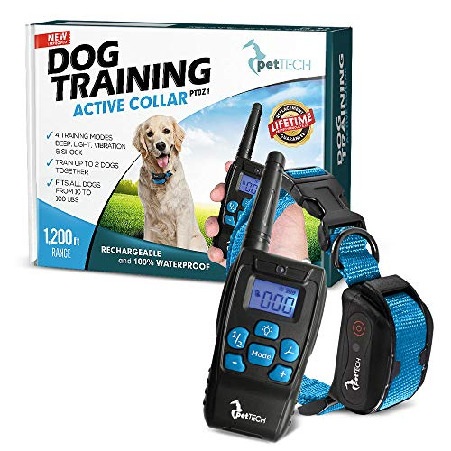 PetTech PT0Z1 Premium Dog Training Shock Collar,...