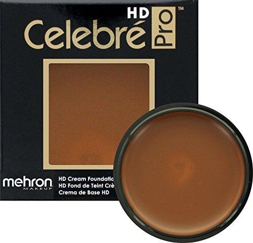 Mehron Makeup Celebre Pro-HD Cream Face & Body Makeup, DARK 3 - - Cream Celebre