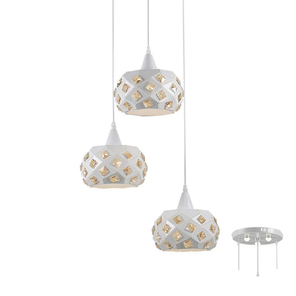 Kronleuchter 3 LED Wohnzimmer Kronleuchter Wohnzimmer Schlafzimmer Speisesaal Beleuchtung 110-245V