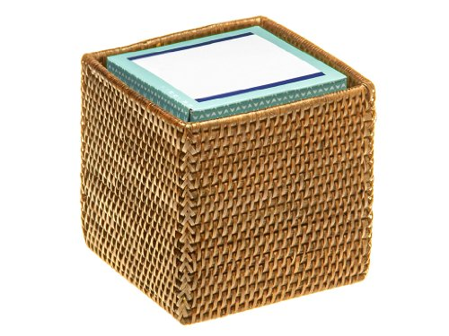 Review KOUBOO Square Rattan Tissue