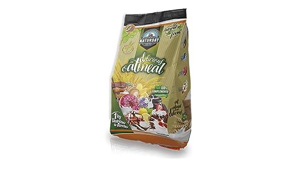 Harina de Avena Delicious Ouatmeal Sabores Variados 1Kg (Vainilla - Canela): Amazon.es: Salud y cuidado personal