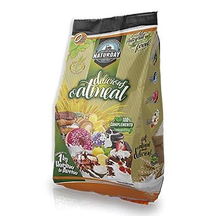 Harina de Avena Delicious Ouatmeal Sabores Variados 1Kg (Vainilla - Canela)