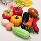 Plastic Artificial Vegetables Modern Home Decorations.