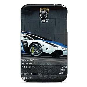 Awesome Luckmore Defender Tpu Hard Case Cover For Galaxy S4- Lamborghini Murcielargo Lp640