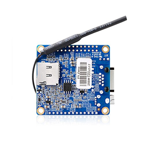 Makerfocus Orange Pi Zero H2 Quad Core Open-source 256MB Development Board with Wifi Antenna by MakerFocus (Image #3)