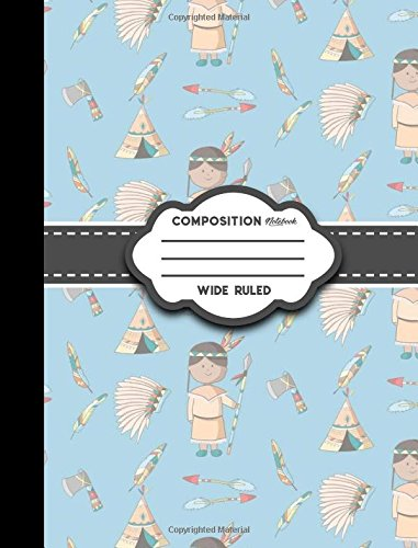 Read Online Composition Notebook: Wide Ruled: Diary For Girls, Journals For Women, Composition Book Wide Ruled, Cute Cowboys Cover (Volume 41) PDF