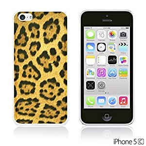 Fabric Pattern Hard Back For LG G3 Case Cover - Leopard Pattern