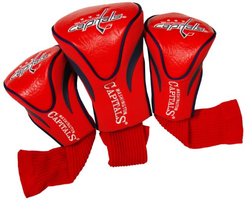 - Team Golf NHL Washington Capitals Contour Golf Club Headcovers (3 Count), Numbered 1, 3, & X, Fits Oversized Drivers, Utility, Rescue & Fairway Clubs, Velour lined for Extra Club Protection