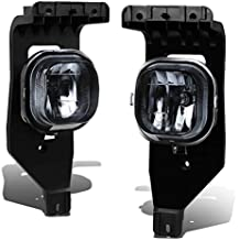 Ford Super Duty/Excursion Pair of Bumper Driving Fog Lights (Smoked Lens)