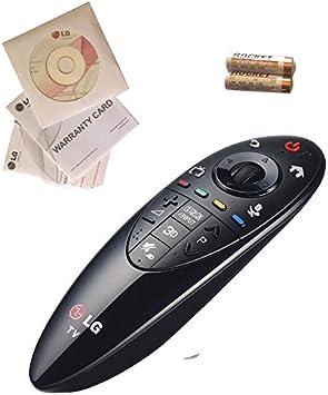 Original LG AN-MR500/ebx62208301 Magic Mando a Distancia. Compatibilidad/2014 LG Smart TV (Accesorios necesarios para lb570 y 580). (Uso Mundial, Teclado inglés): Amazon.es: Electrónica
