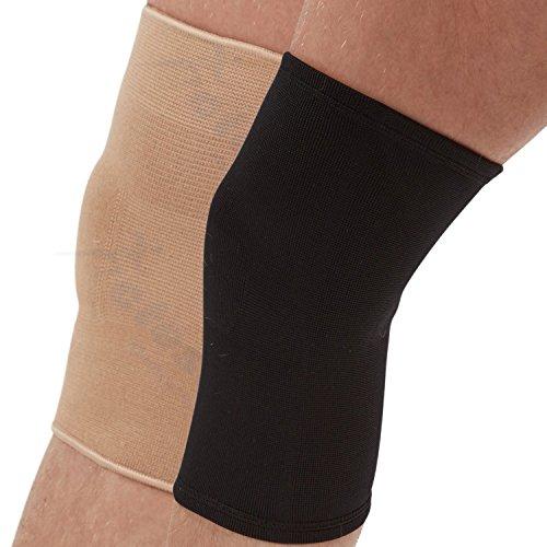 Actesso Beige Elastiche Kniebandage (Mittelgroß): Kann bei Verletzungen des Knies, wie Zerrungen und Verstauchungen eingesetzt werden