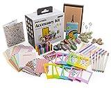 Accessories Kit for Fujifilm Instax Film Mini 8 or 9 Cameras | Fun & Colorful Photo Accessory Set with Scrapbook, Photo Album, Mini Stickers, Mini Film Clips & Vintage Frames | Artistic Hanging Frames